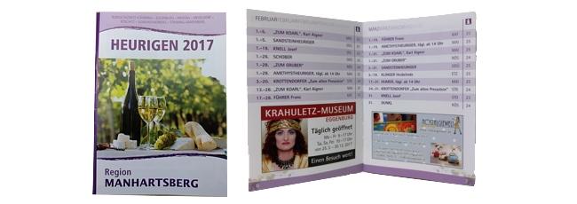 Heurigenkalender 2017